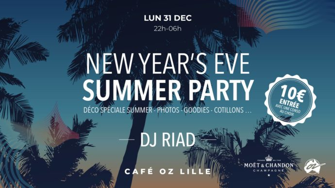 DJ résident Oz café Lille